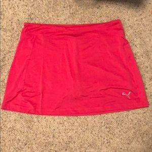 Pink Puma Skirt